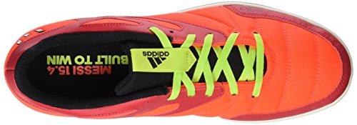 Adidas Messi 15.4Street, Herren Sneaker Rosso / verde / nero