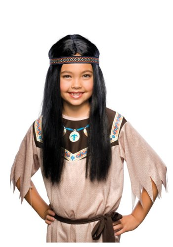 [Indian Maiden Wig] (Pocahontas Costume Accessories)