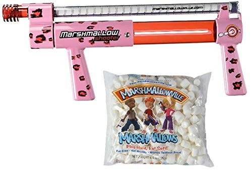 Cheetah Shooter with 1 Bag of Marshmallows