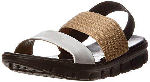 Catwalk Women's Black Fashion Sandals – 6 UK