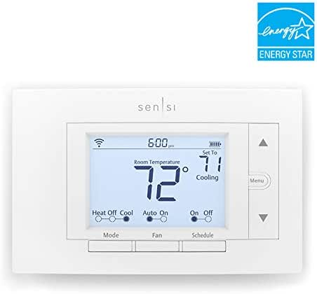 Emerson Sensi Wi-Fi Thermostat for Smart Home, DIY Version, Works with Alexa, Energy Star Certified