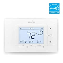 From across the room or across the country, your Sensi Wi-Fi thermostat makes it easy to remotely control and schedule your home comfort - Anytime. Anywhere. Designed to work with the wires you already have, Sensi thermostat does not require ...