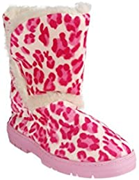 Snooki's Leopard Slipper Boot - 2 Colors Available