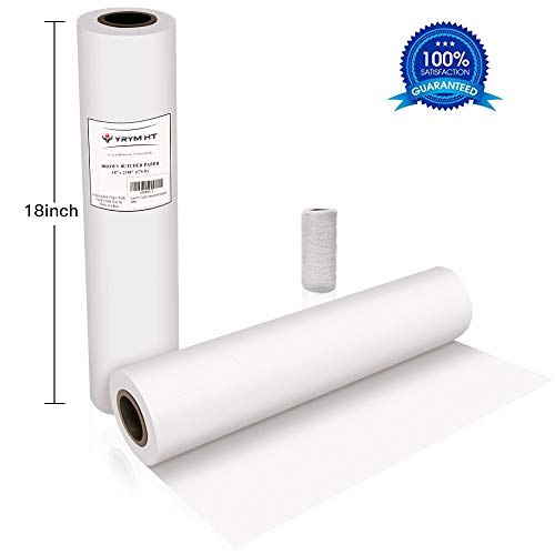 White Butcher Kraft Paper Roll product image