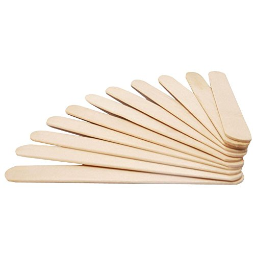 Wood Stick Craft Sticks for Ice-Lolly DIY Making,50pcs,5.91 X 0.79 X 0.04