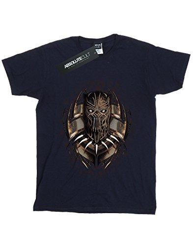Bleu Panther Gold Marin Garçon Erik Marvel Black shirt T Killmonger aqUxnw8ES