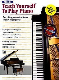 Alfred's Teach Yourself to Play Piano Bk+CD by Alfred
