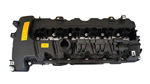 Valve cover engine cover N54 3.0 bi-turbo with gasket: