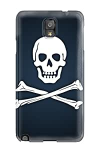 Steven Jennifer Woods LXfiFth2454kERPF Case Cover Galaxy Note 3 Protective Case Skull