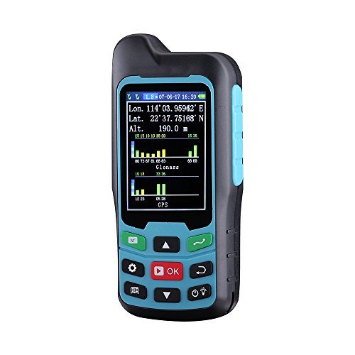BEVA Handheld GPS GLONASS BEIDOU Length and Land Area Measure Calculation Meter,GPS Area & Distance Measurement,Figure Track Multifunctional Measuring Instrument (Colorful screen)