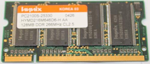 128mb Ddr 266mhz Pc - HYMD216M646D6-H AA PC2100S 128MB DDR 266MHz CL2.5