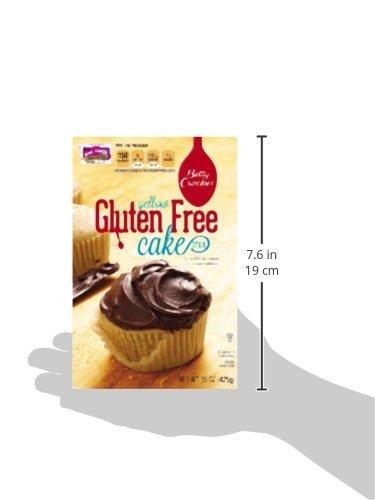 Amazon Betty Crocker Baking Mix Gluten Free Cake Yellow 15 Oz Box Pack Of 6 Grocery Gourmet Food