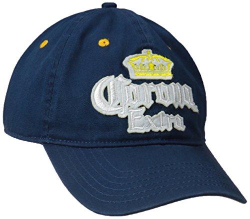 Corona Men's Washed Cotton Twill Baseball Cap, Navy, One Size