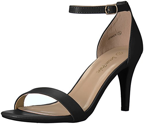3 inch black heels - 1