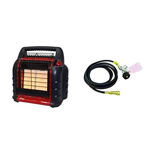 - Mr. Heater 4000 to 18000 BTU Big Buddy Portable Liquid Propane Gas Heater UnitMr Heater 12 Foot Big Buddy Propane Gas to Heater Adapter Hose w/Regulator
