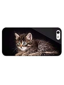3d Full Wrap Case For Sam Sung Galaxy S4 I9500 Cover Animal Kitten71