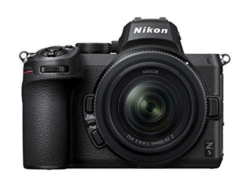 Nikon Z 5 compact systeemcamera + 24-50mm lens + FTZ vatting adapter – 24,5 MP FULL-FRAME sensor – 4,5 bps – Grote Z…