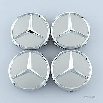 Amazon.com: 99 Carpro Car Wheel Center Hub Caps for Mercedes ...