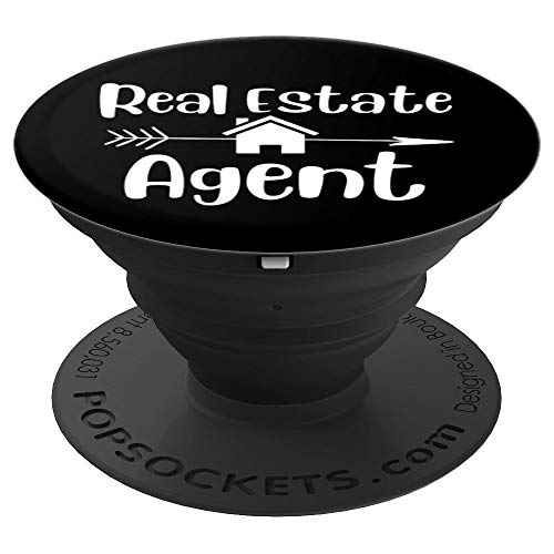 Cute real estate agent house REA agents gift home marketing PopSockets Grip and Stand for Phones and Tablets