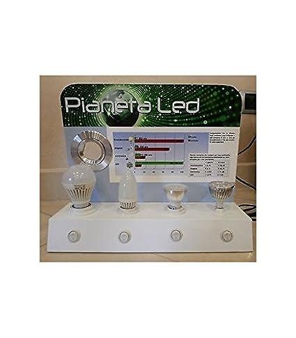 Expositor Comprobador para bombillas y focos LED con interruptores on/off: Amazon.es: Iluminación