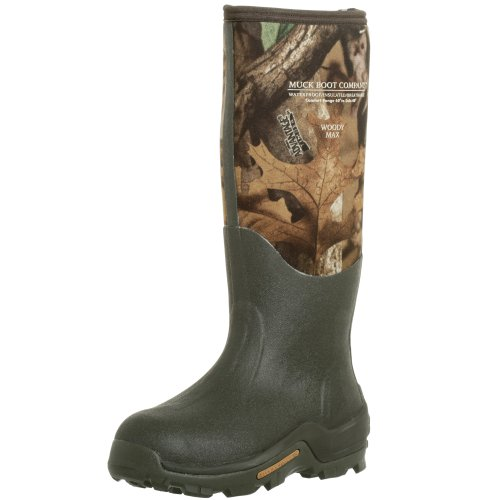 The Original MuckBoots Unisex Woody Max Boot,Mossy Oak Break-Up Camo,Men's 7 M/Women's 8 M