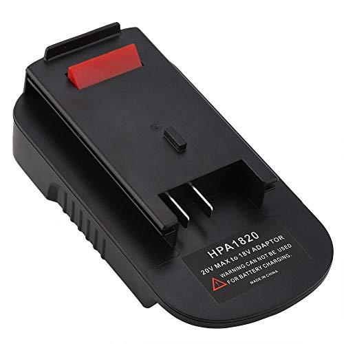 Haofy 20V Adaptador de batería para Black & Decker HPA 20V Herramienta de Litio Convertir batería Compatible con Todas Las...