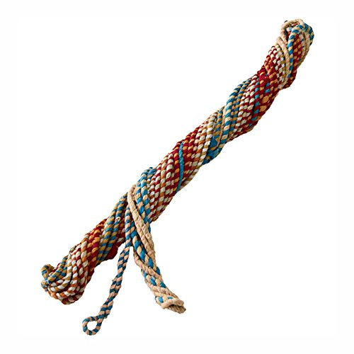 (Colorful Handmade Fabric Twine/Rope Craft Cord for Arts, Crafts, Sewing, Macrame & Jewelry Making, 1/4