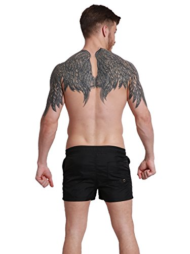 Neleus Men's Dry Fit Short Pockets