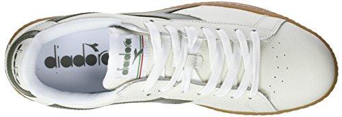Bianco Olivina L C6288 Low Diadora Game verde qZIw6PxUO