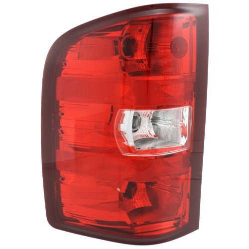Driver Side Replacement Tail Light Assembly for 2007-2013 Chevrolet Silverado 1500 & 2007-2010 Silverado 2500 HD