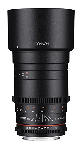 Rokinon Cine DS 135mm T2.2 ED UMC Telephoto Cine Lens for Sony A Mount Digital SLR Cameras