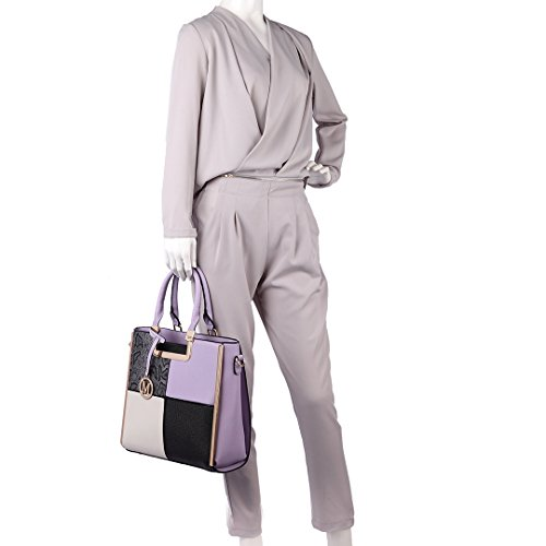 Woman Miss Lulu Miss Handbag Lilac Lulu Handbag 0TFvXqvx