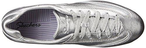 Skechers Bella zapatilla de deporte de moda Silver