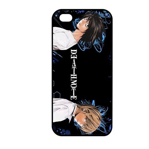 Coque,Phone Case Covers Cool Coque iphone SE & Coque iphone 5 & Coque iphone 5S Case Cover Cover Casing(Death Note Logo)