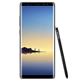 Samsung Galaxy Note 8, 64GB, Midnight Black – For T-Mobile (Renewed)