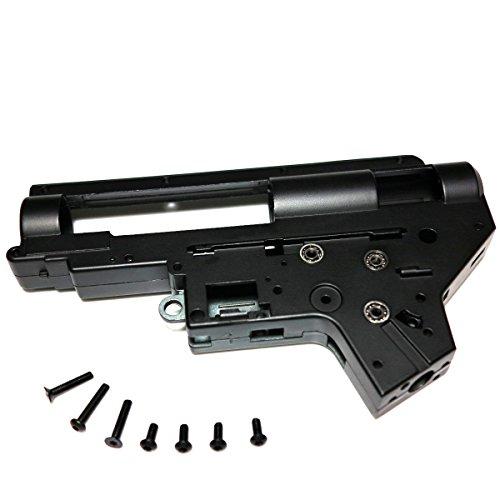 (AEG Airsoft Wargame Shooting Gear E&C 8mm Bearing AEG M4 AEG Reinforced Gearbox Shell Version)