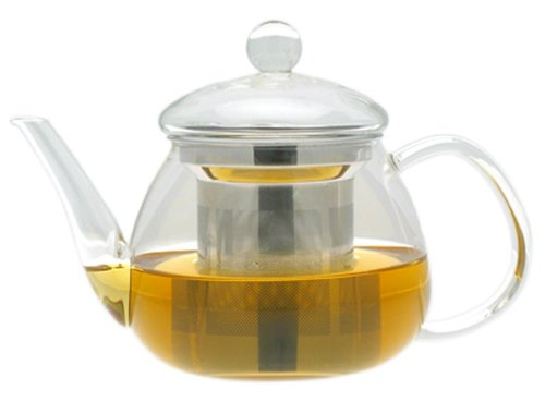 Adagio Teas 17 oz. Petit Glass Teapot & Infuser (Adagio Teas Teapot Glass)