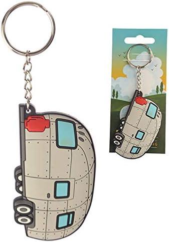 Puckator Stromlinienförmiger Schlüsselanhänger Aus Pvc Gemischt Gesamtlänge 12 Cm Höhe 4 Cm Breite 7 Cm Tiefe 0 4 Cm Küche Haushalt
