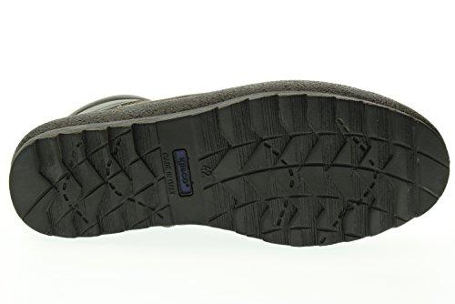 66781 scarponcini uomo scarpe IGI mid camoscio grigio Antracite amp;CO lacci antracite a6xqngT