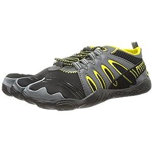 Body Glove Men's 3T Warrior Water Shoe,Black/Yellow,9 M US