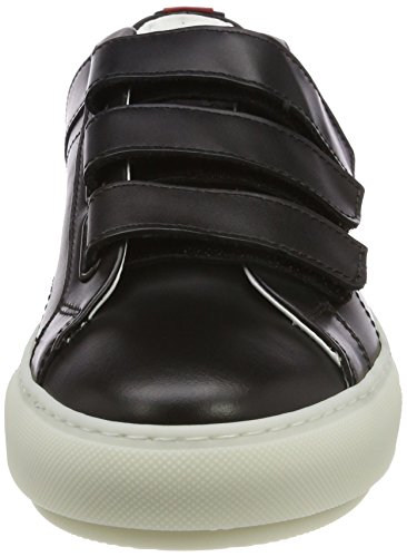 Noir Basses Black HUGO Femme Sneakers Hackney c qnwwxHgA