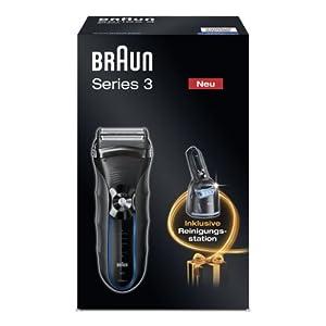 [Amazon] Braun Series 3 – 350cc Herrenrasierer inkl. Reinigungsstation für nur 59,99€ inkl. Lieferung (Vergleich: 74€)
