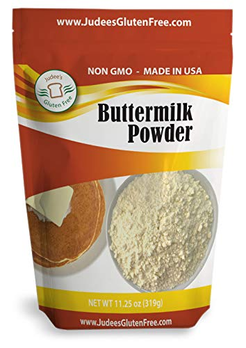 Buttermilk Powder (11.25 Oz): Non-GMO - Hormone Free - USA Produced (1.5 lb-24 oz value size available also)