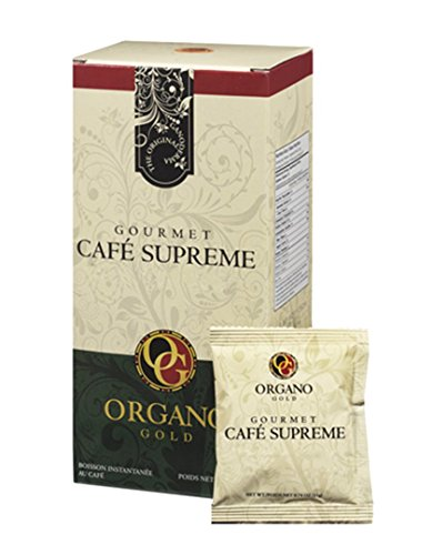 2 Box 100% Organic Ganoderma Gourmet Coffee Organa Gold C...