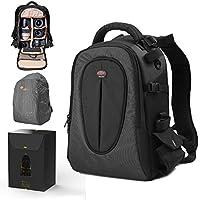 DSLR Camera Backpack Waterproof Camera Bag with 12