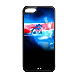 STYLE-UM@ Case for iphone 5c, TPU iphone 5c Cover, NFL Buffalo Bills iphone 5c Case, Covers for iphone 5c (White or Black)