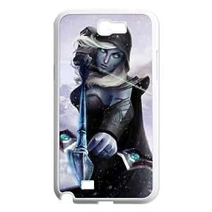 Dota2 DROW RANGER Samsung Galaxy N2 7100 Cell Phone Case White VBS_3647817