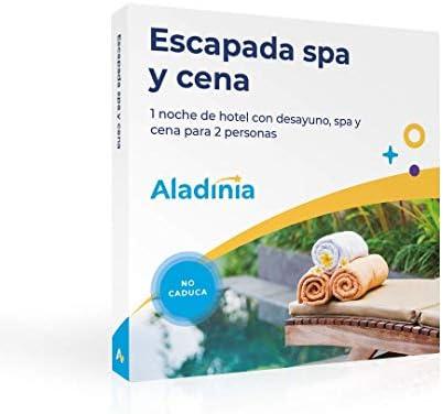 ALADINIA Escapada SPA y Cena. Caja Regalo Experiencias con Validez ...