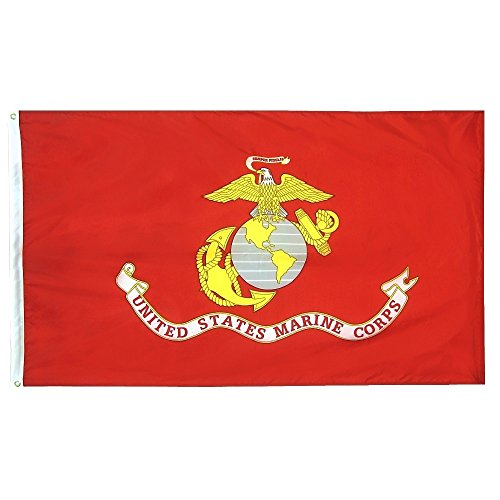 Annin Flagmakers Model 3418 U.S. Marine Corps Military Flag
