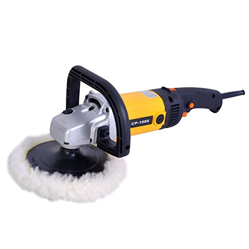 Electric Grinders And Polishers ~ Goplus quot electric car polisher variable speed buffer